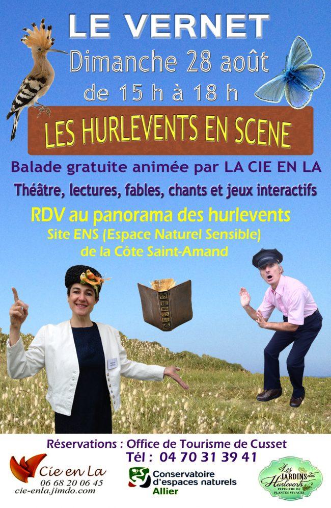 Affiche JPG Le Vernet Les hurlevents en scène août 2016